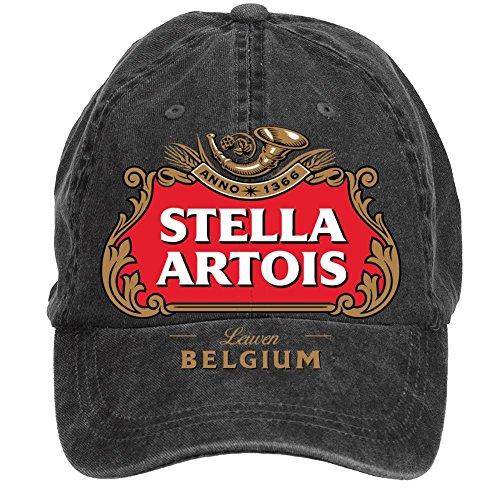 gaojidian-stella-artois-logo-cotton-six-panel-till-baseball-cap-hats-unisex