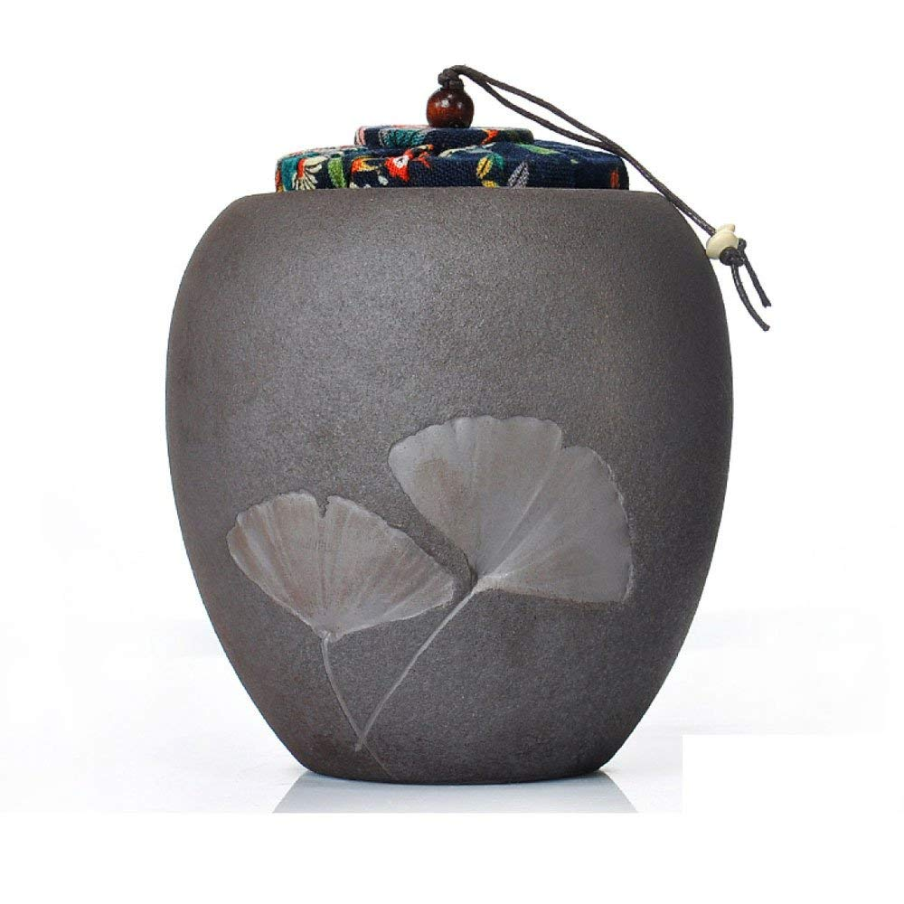 Black Cremation Urns Funeral Urn for Human Ashes Adult and Memorial Urns Burial Urns at Home Or in Niche at Columbarium