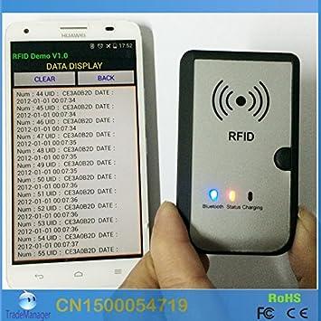 RPSL 13 56MHZ Wireless Bluetooth RFID Reader Writer: Amazon
