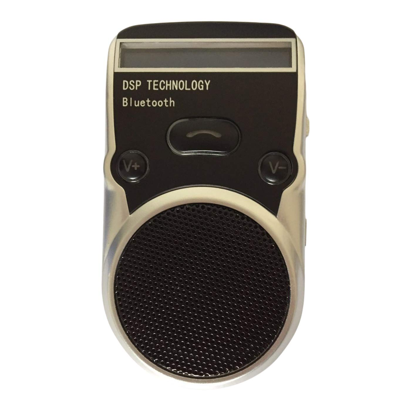 WiseBird ソーラー Bluetooth ハンズフリー 車載電話スピーカー 数字表示付き   B07QCHY8NK