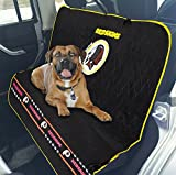 Pets First NFL CAR SEAT Cover – Washington Redskins Waterproof, Non-Slip Best Football Licensed PET SEAT Cover for Dogs & Cats. For Sale