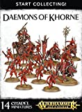 Games Workshop Start Collecting! Daemons Khorne Warhammer Age Sigmar