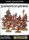 Games Workshop Start Collecting! Daemons Khorne Warhammer Age Sigmar