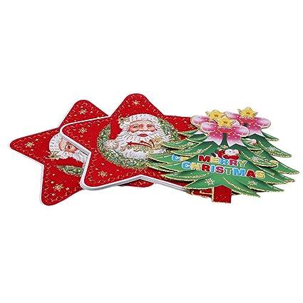 edtoy creative five star old manchristmas treechristmas triangle flag christmas