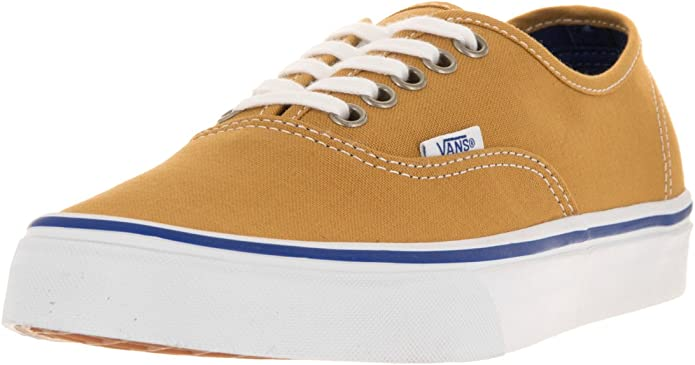 Vans Authentic Sneakers Herren Damen Unisex Bernstein Braun (Amber Gold)