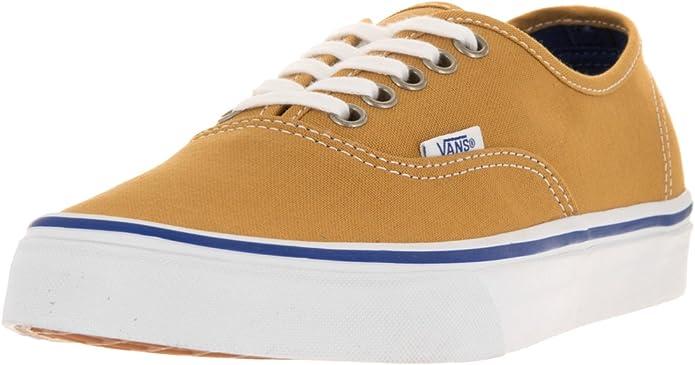 Vans Authentic Sneakers Herren Damen Unisex Bernstein Braun (Amber Gold)