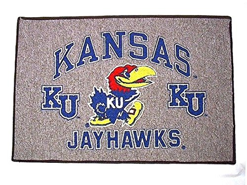 - KANSAS JAYHAWKS - Welcome/Door Mat Rug - NEW