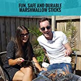 Extending-Marshmallow-Roasting-Sticks-32-Inch-Set-of-8-Telescoping-Stainless-Steel-Smores-Skewers-and-Hot-Dog-Forks-Long-Camping-Cookware-and-Fire-Pit-With-Canvas-Bag-Safe-For-Kids