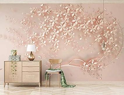 Bhxingmu personalizzato grande murale eleganza d stereoscopico