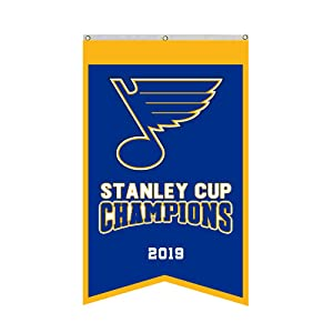 "Thinkfly St.Louis Blues 2019 Stanley Cup Champions Banner Flag 30""x50""Inch Man Cave (Blue 1)"