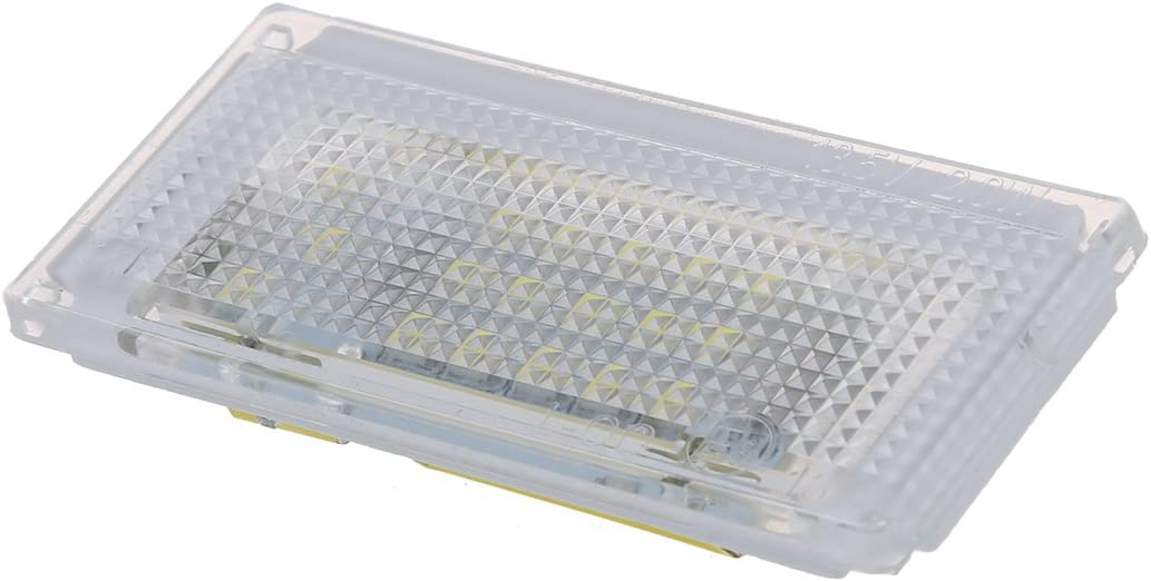 COPPIA LUCI TARGA 18 LED BIANCO PER Mini Cooper R50 R52 R53 R SODIAL