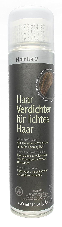 Hairfor2 Hair Thickener 400ml (Black) IMACS INTERNATIONAL INC. 1400100