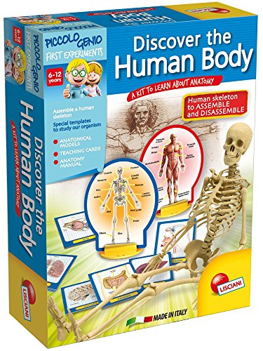 LISCIANI Piccolo Genio Discovery The Human Body Game -