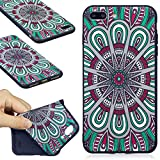 "For iPhone 7 Plus Case - ANGELLA-M Ultra Slim Flexible Soft Premium TPU Gel Silicone Bumper Cover for iPhone 7 Plus (5.5"") - HDMH"