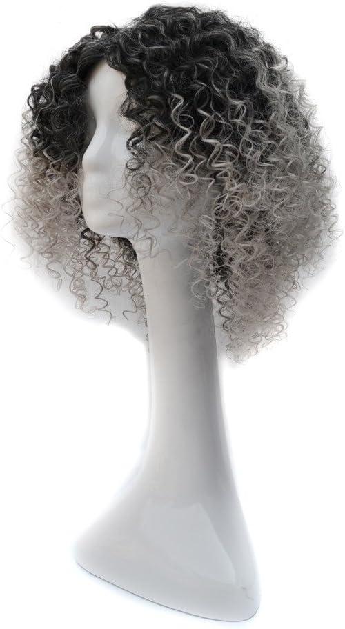 Densidad natural línea de cabello para mujer Rizos de primavera ...