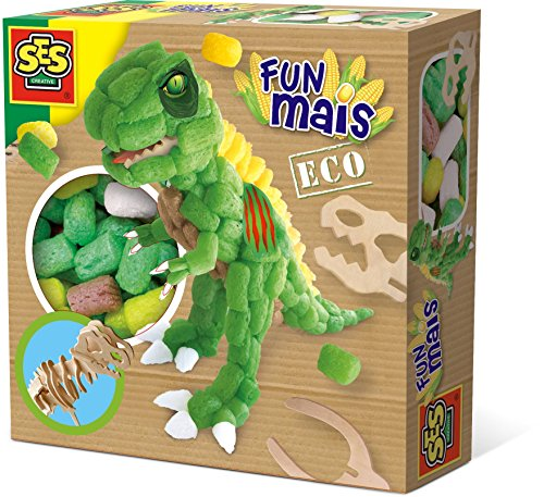 SES Creative 24988 Funmais Dino with Wooden Skeleton