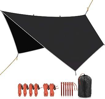 REDCAMP Waterproof Camping 4 in 1 Multifunctional Tent/Tarp