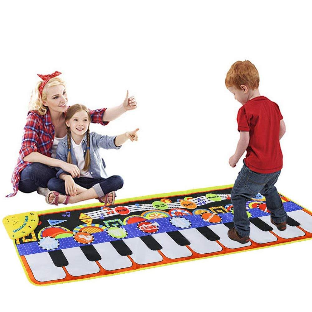Yeenee 19 Keys Piano Play Mat Dance Musical Mat Kids Musical Floor Game Activity Blanket Cushion by Yeenee (Image #5)