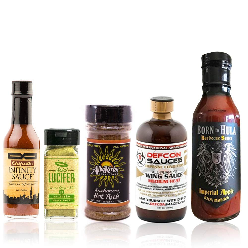 Blazing BBQ Box - Spicy Barbecue Gift Set by Fuego Box (Image #1)
