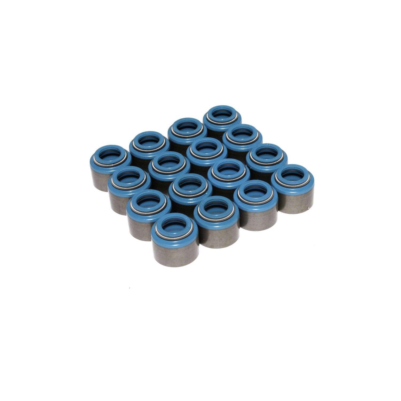 Competition Cams 529-16 Metal Body Viton Valve Stem Oil Seals, 11/32'' Valve Stem Diameter by Comp Cams