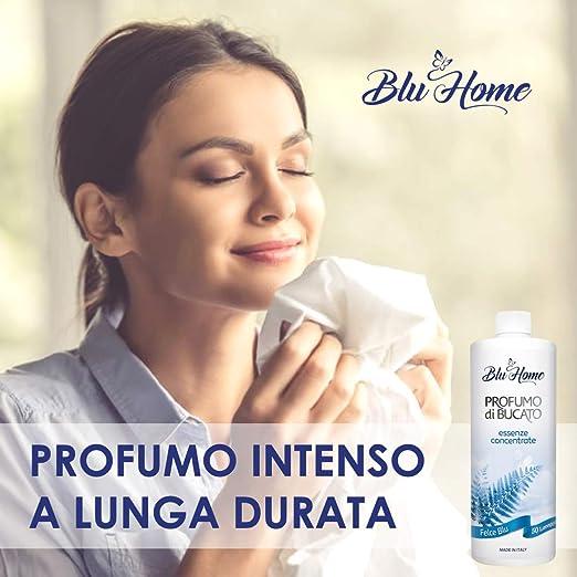 Blu Home Essenza Profuma Bucato, Profumo per Bucato, Essenza Bucato a Lunga Durata, Super Concentrato per Lavatrice (Summer Kit, 5 x 100 ml)
