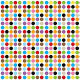 WallCandy Arts Removable Wallpaper, French Bull Large Multi-Dot