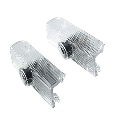 2pcs For Nissan Car Led Door Projector Lights Welcome Lights Car Logo Lamps Replacement Assembly Led Courtesy Step Lights 3W HD for Altima Armada Maxima Titan Quest: Automotive