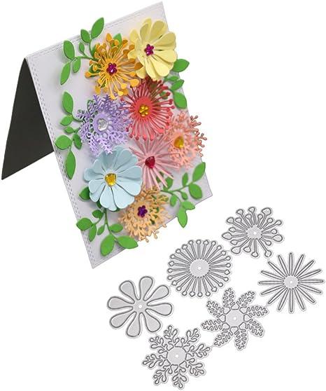 Kokorosa Flower Dies Open Envelope Metal Cutting Dies For Craft Dies Scrapbookin