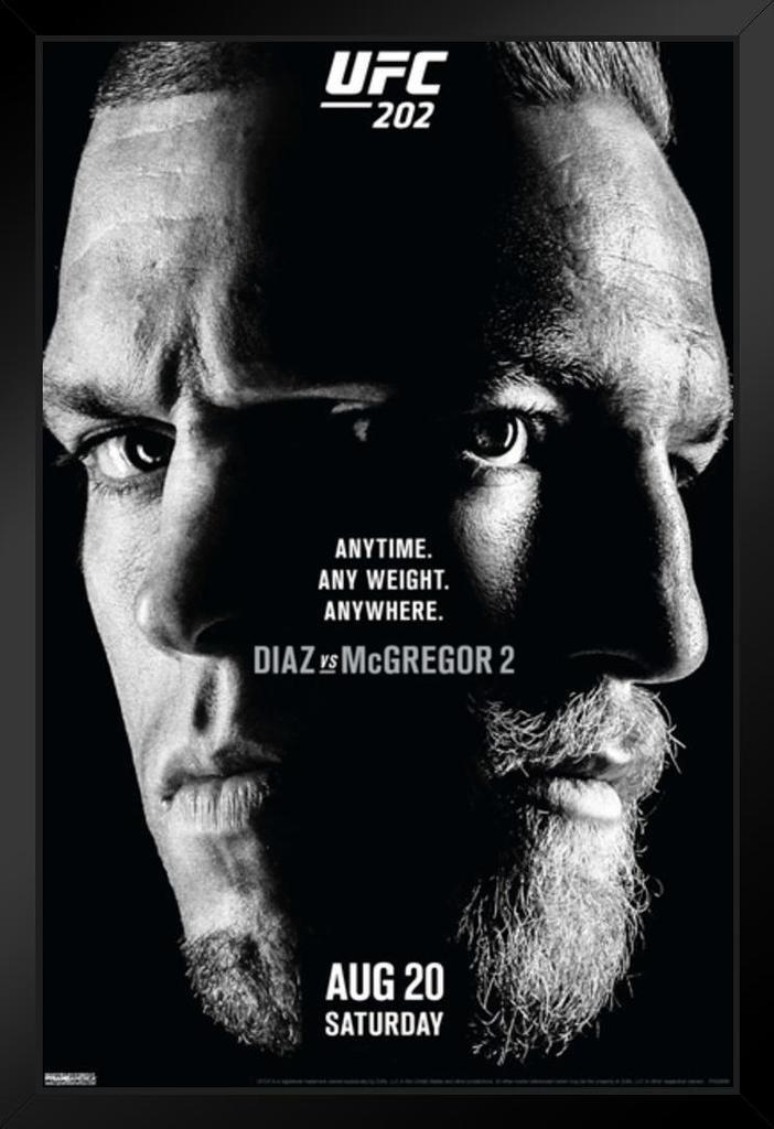 Image result for ufc mcgregor diaz poster