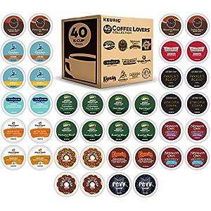 Keurig K-Cup 40 Count Coffee Lover's Variety Pack