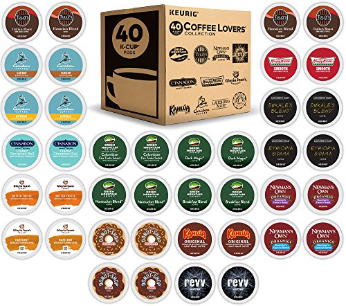 Keurig K-Cup 40 Count Coffee Lover's Variety Pack