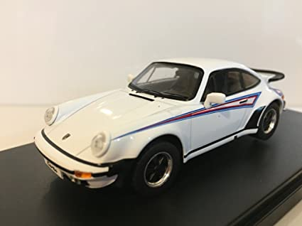 Premium-X Porsche 911 Turbo Martini Edition Weiss Dekor 1975 1: 43 Scale –