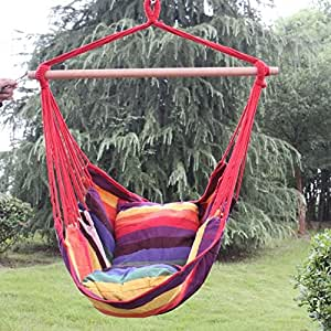 Hanging Hammock Swing by Sunnydaze Decor - Oasis