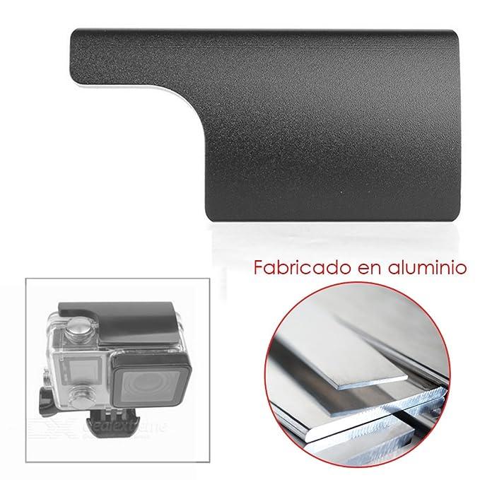 Donkeyphone - Cierre Hebilla PESTILLO Aluminio para Carcasa ACUÁTICA Deportiva Sumergible para GOPRO Hero 3 3+ 4 (Todos LOS Modelos Black, Silver Y ...
