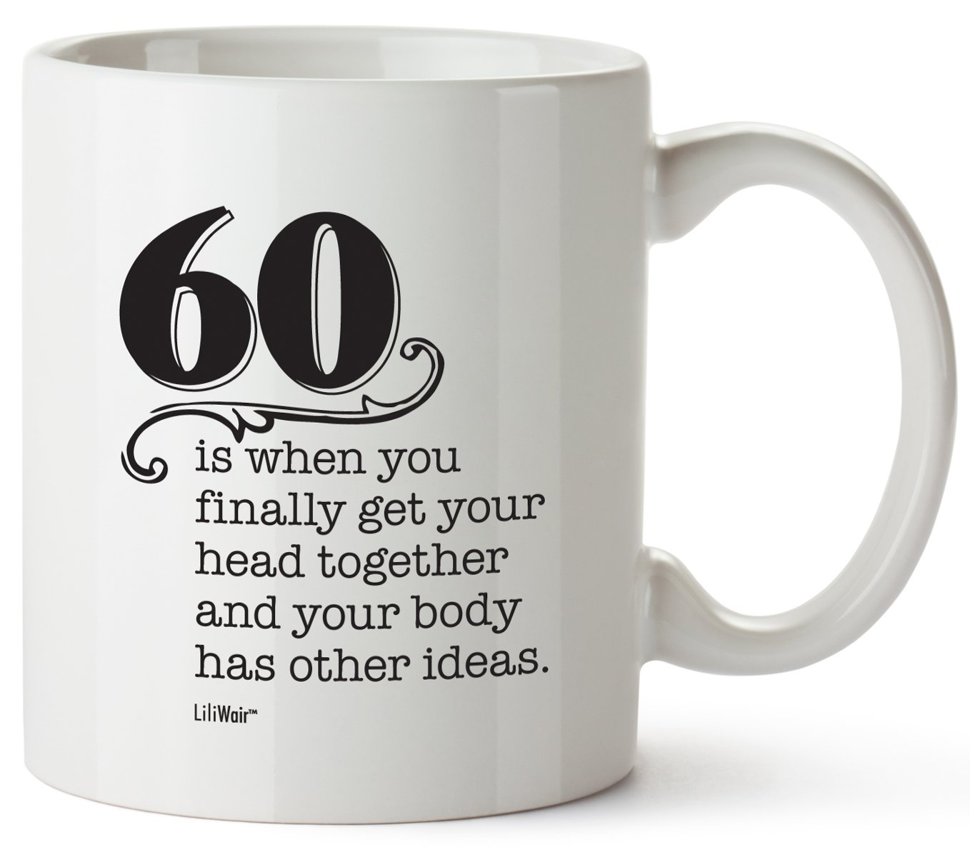 60th Birthday Gifts For Women Sixty Years Old Men Gift Mug Happy Funny 60 Mens Womens Womans Wifes Female Man Best Friend 1959 Mugs Male Unique Ideas 59