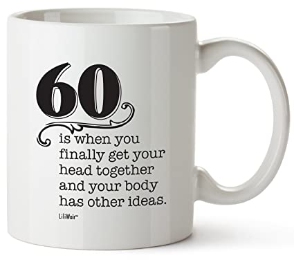60th Birthday Gifts For Women Sixty Years Old Men Gift Happy Funny 60 Mens Womens Womans