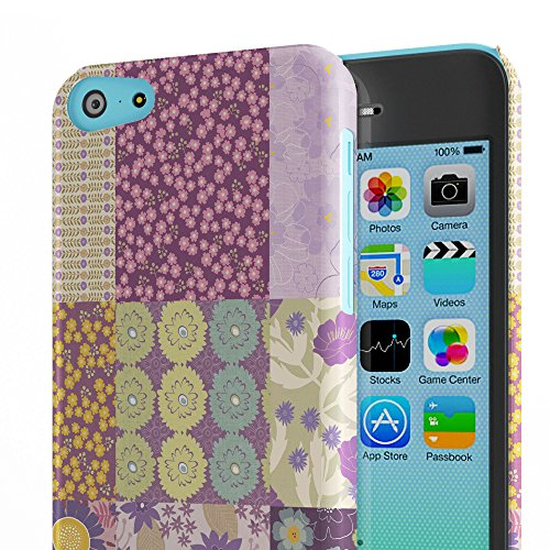Koveru Back Cover Case for Apple iPhone 5C - Daily Thought Boxed Pattern