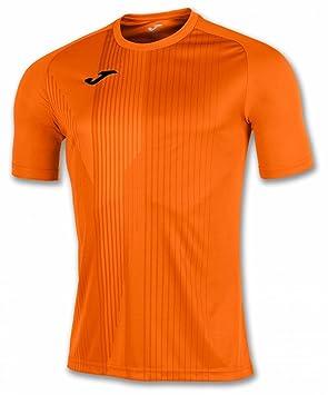 KiarenzaFD Joma Camiseta Tiger M/C Naranja Fútbol Fashion Camiseta para Hombre, 100945_800_4XS-