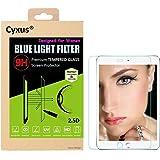 "Cyxus [Sleep Better] UV Filter 9H Hardness Premium Tempered Glass Blue Light Blocking Ray Block Screen Protector for Apple iPad 1/2/3/4 (9.7""), Great for Women"