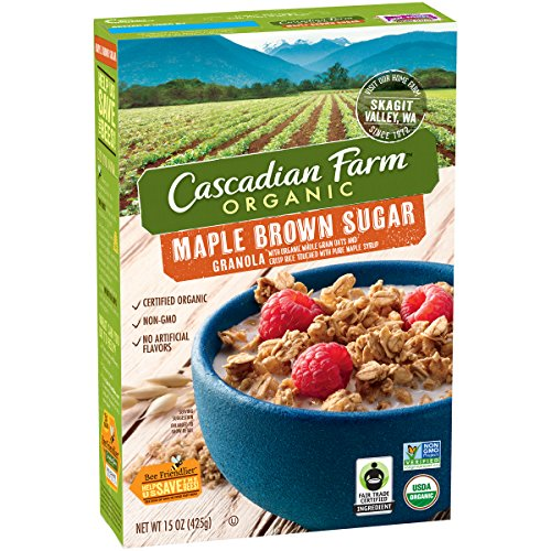 Cascadian Farm Organic Maple Brown Sugar Granola, 15 oz