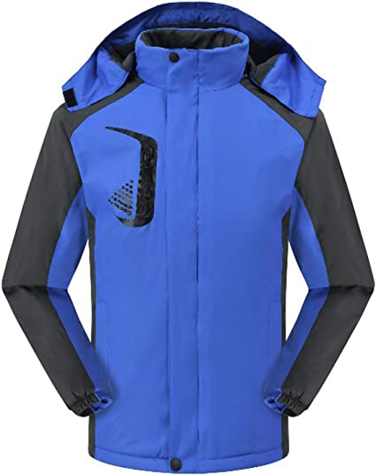 Huanxin - Chaqueta impermeable para hombre y mujer, forro ...