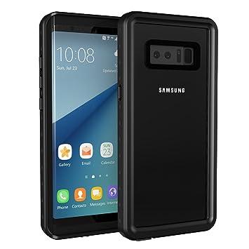KYOKA Samsung Galaxy Note8 防水ケース 指紋認証対応 防水 耐震 防塵 耐衝撃 IP68 ギャラクシー