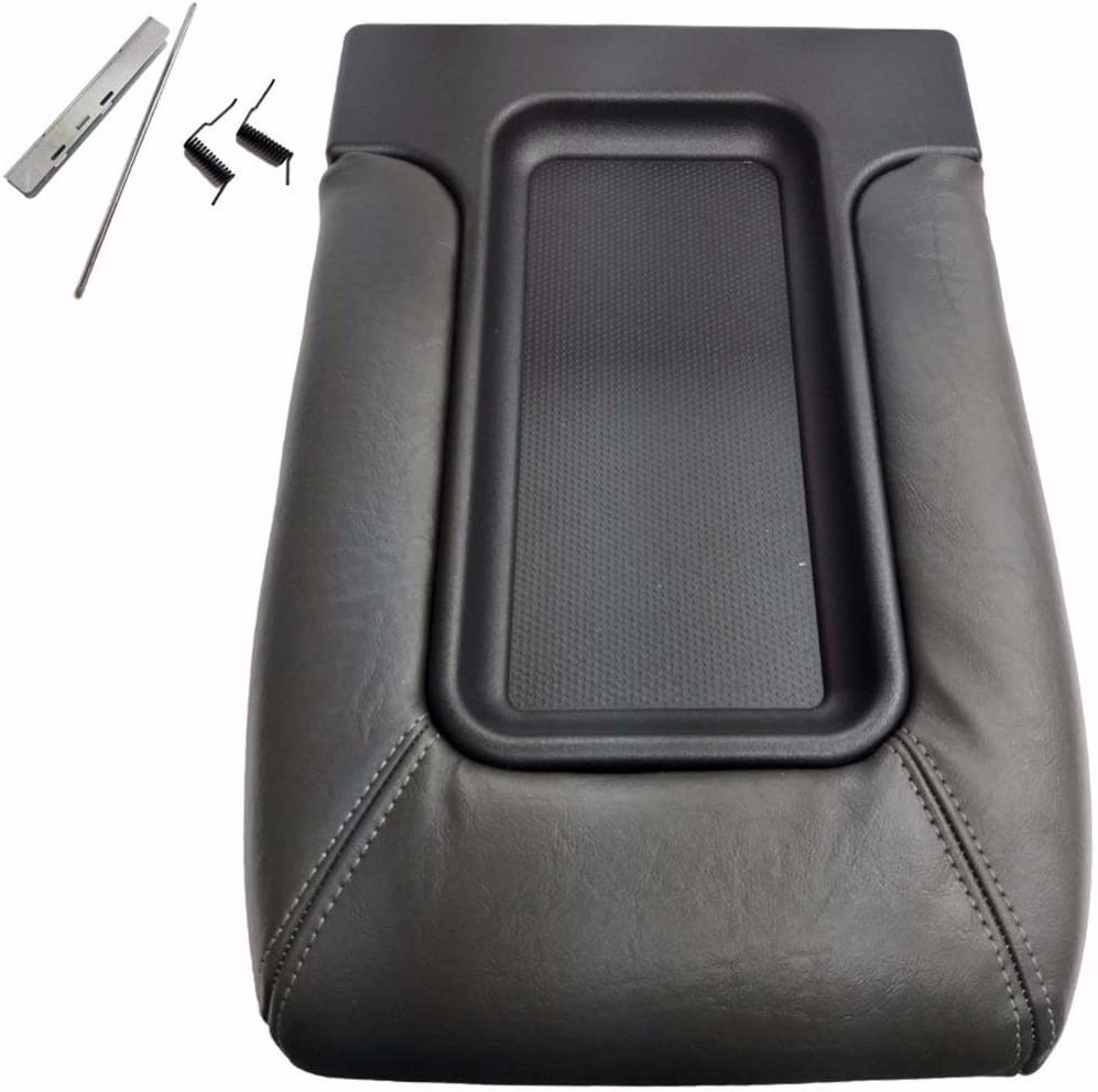 erushautoparts Dark Grey Console Store Sacramento Mall Center Replacement Lid f Covers
