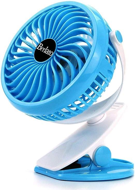 YNLRY Ventilador De Refrigeración Clip En Cochecito Ventilador ...