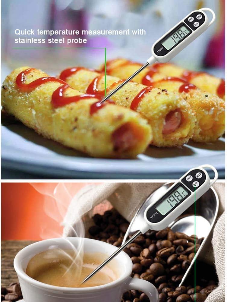 Gutyan Termometro Cucina Digital Barbecue Termometro a Base di Carne con sonda a Lettura istantanea