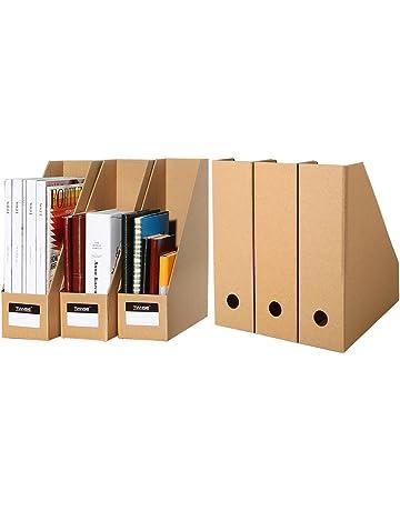 TIANSE Set de archivador de Papel – 6 unidades – El perfecto organizador de papeles para