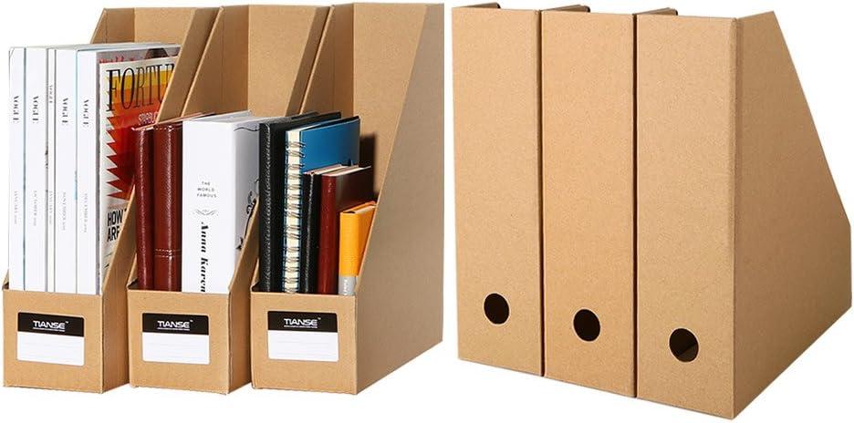 TIANSE Set de archivador de Papel – 6 unidades – El perfecto organizador de papeles para periódicos, revistas – Revistero de Papel: Amazon.es: Oficina y papelería
