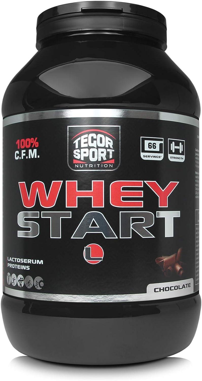 Tegor Sport Whey Start Chocolate - 2000 gr: Amazon.es: Salud ...