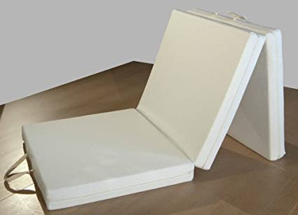 Futon colchón, plegable, ahorro de espacio, plaza individual 90x200 cm