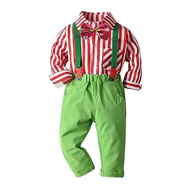 Ansenesna Navidad Navidad Camisa niño a Cuadros completos para ...